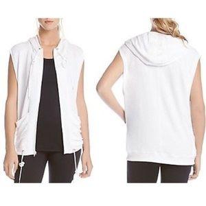NWT Karen Kane Active Hooded Vest (S)